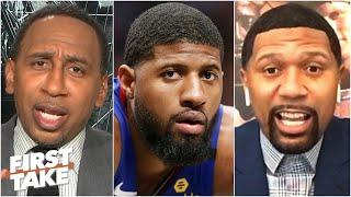 Stephen A. and Jalen Rose disagree on Paul George's career since leaving the Pacers | First Take