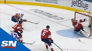 Anthony Beauvillier Finishes Off Sweet Feed From Mathew Barzal For Second Goal
