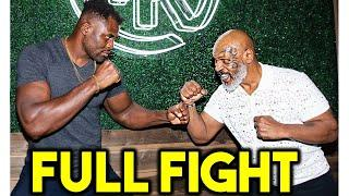 *K.O* MIKE TYSON vs FRANCIS NGANNOU FULL FIGHT SIMULATION HIGLIGHTS- UFC 4 KNOCKOUT MODE!