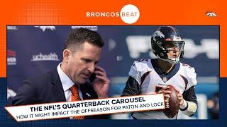 How the NFL's 'QB carousel' could impact Broncos GM George Paton and Drew Lock | Broncos Beat