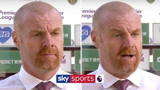 Sean Dyche responds to questions over his Burnley future after exit speculation
