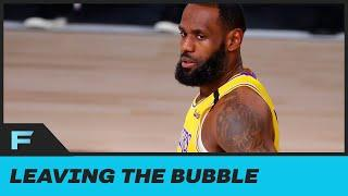 "LeBron James Says He Thinks About Leaving NBA Bubble ""At Least Once A Day'"
