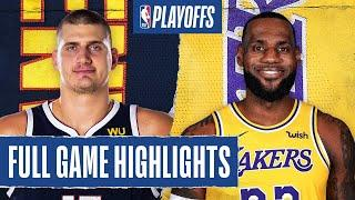 NUGGETS at LAKERS | FULL GAME HIGHLIGHTS | SEPTEMBER 18, 2020