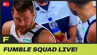 Luka Doncic Caught Drinking Mysterious Brown Drink During Game Against Clippers | Fumble Live