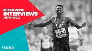 Men's 800m Interviews | World Athletics Championships Doha 2019