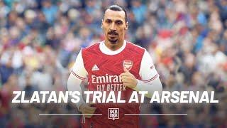 The reason why Zlatan refused an Arsenal trial is classic Zlatan! | Oh My Goal