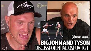 """Tyson and John Fury discuss Anthony Joshua fight: """"I'll put Eddie Hearn and his dad in dole queue!"""""""