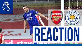 'All About The Team' - Jamie Vardy | Arsenal 1 Leicester City 1