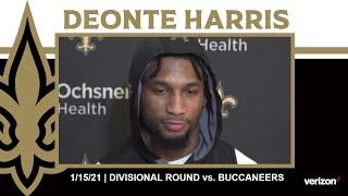 Deonte Harris on Continuing to Make Plays in the Playoffs | Saints-Buccaneers NFC Divisional Round