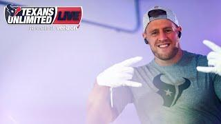 Watch the Houston Texans Warm Up Before they Take on the Jacksonville Jaguars | Unlimited LIVE