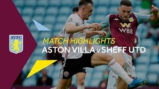 Highlights | Aston Villa 0-0 Sheffield United
