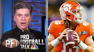 Why Trevor Lawrence is likely to play vs. Notre Dame after COVID | Pro Football Talk | NBC Sports