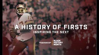 A History of Firsts: Inspiring the Next | Black History Month | Washington Football Team