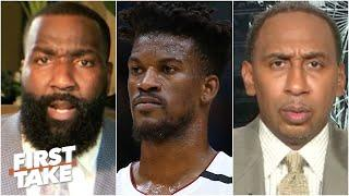 Kendrick Perkins & Stephen A. disagree on Jimmy Butler's potential | First Take