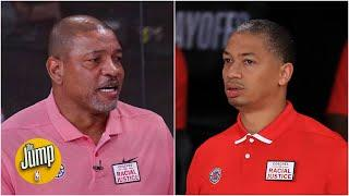 Who has more pressure: Ty Lue on the Clippers or Doc Rivers on the 76ers? | The Jump