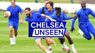 Olivier Giroud Scores Sublime Volley & Christian Pulisic's Foot Tennis Bicycle Kick | Chelsea Unseen