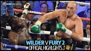 Deontay Wilder v Tyson Fury 2 fight highlights
