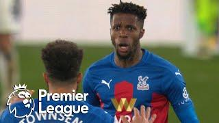 Wilfried Zaha grabs Crystal Palace lead against Leicester City | Premier League | NBC Sports