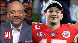 PTI reacts to Patrick Mahomes' $400+ MILLION contract with Kansas City Chiefs