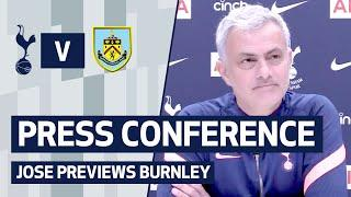 Mourinho gives squad update and reacts to Europa League draw | PRESS CONFERENCE | Spurs v Burnley