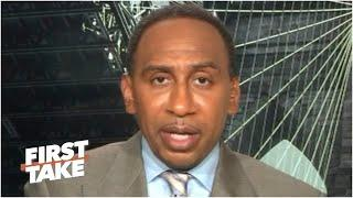 Stephen A. reacts to NASCAR banning the Confederate flag at all race tracks | First Take