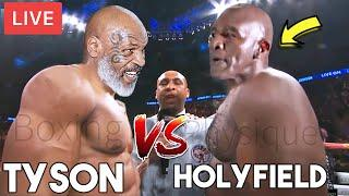 MIKE TYSON vs EVANDER HOLYFIELD ULTIMATE FIGHT HIGHLIGHTS (REVENGE or REPEAT [53 vs 57] ) KNOCKOUT!