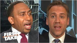 Stephen A. & Max get heated debating how the 2020 NFL season will look | First Take