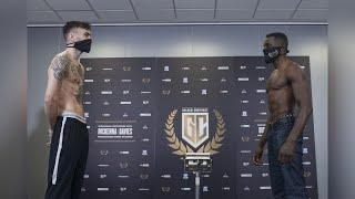 PAIR TRADE HEATED WORDS! - TYRONE McKENNA v OHARA DAVIES -  *FULL WEIGH IN & HEAD-TO-HEAD*
