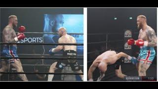 WHEN WORLD'S STRONGEST MAN FOUGHT THE BOXER -  'THE MOUNTAIN' THOR BJORNSSON V STEVEN WARD AFTERMATH