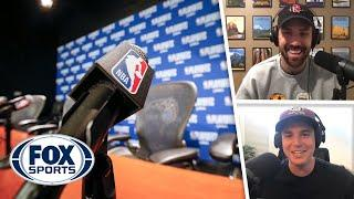 Replacement Players, Media in the Bubble? What's going on in the NBA? | Titus & Tate | FOX SPORTS