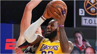 Did LeBron get too many foul calls in the Lakers' Game 4 win? | Keyshawn, JWill & Zubin