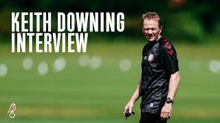 INTERVIEW   Keith Downing on life at City so far!