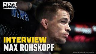 Max Rohskopf Breaks Silence On UFC on ESPN 11, Decision To Call Fight on Stool - MMA Fighting