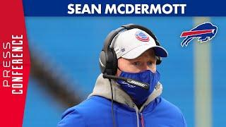 Sean McDermott After Win Over Patriots | Buffalo Bills