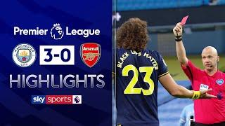 David Luiz's blunders gift Man City win! | Man City 3-0 Arsenal | Premier League Highlights