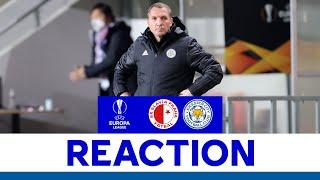'Defensively We Were Strong' - Brendan Rodgers | Slavia Prague 0 Leicester City 0
