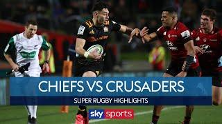 Crusaders put one hand on Super Rugby title! | Chiefs vs Crusaders | Super Rugby Highlights