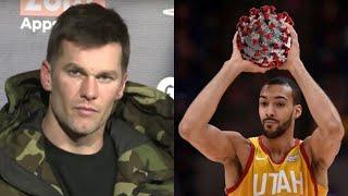 Superstar Athletes REACT To Rudy Gobert Getting EVERY Sports League Suspended
