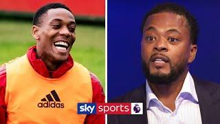 Patrice Evra reveals the moment he saw Anthony Martial's attitude change at Man United