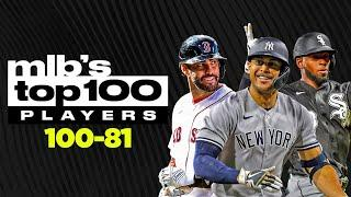MLB's Top 100 Players Countdown, Pt. 1 (100-81)