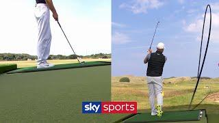 FIVE Top Tips on how to play off an Undulated lie!  | Golf Tutorials
