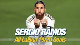 ALL of Sergio Ramos' 2019/20 LaLiga goals for Real Madrid!