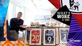 What I Wore: At Home - Robin van Persie