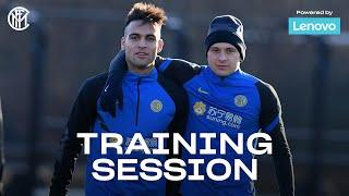 INTER vs BENEVENTO | TRAINING SESSION powered by LENOVO | Ready for the next match!