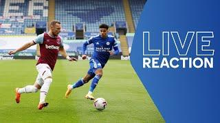 LIVE POST-MATCH REACTION | Leicester City vs. West Ham United | Matchday Live
