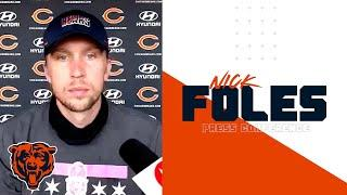 Nick Foles: 'Every day is an opportunity to get better'   Chicago Bears