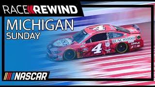 Kevin Harvick cleans up, Sweeps Michigan | Race Rewind from Michigan | Sunday | NASCAR Cup Series