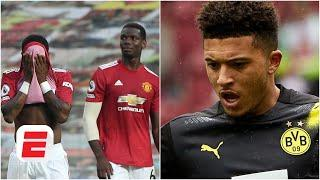 Why would Jadon Sancho join Man United after THAT performance vs. Tottenham? - Hislop | ESPN FC