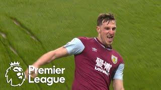 Chris Wood snatches 3-2 Burnley lead v. Aston Villa | Premier League | NBC Sports