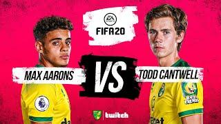 FIFA 20 | Max Aarons takes on Todd Cantwell!